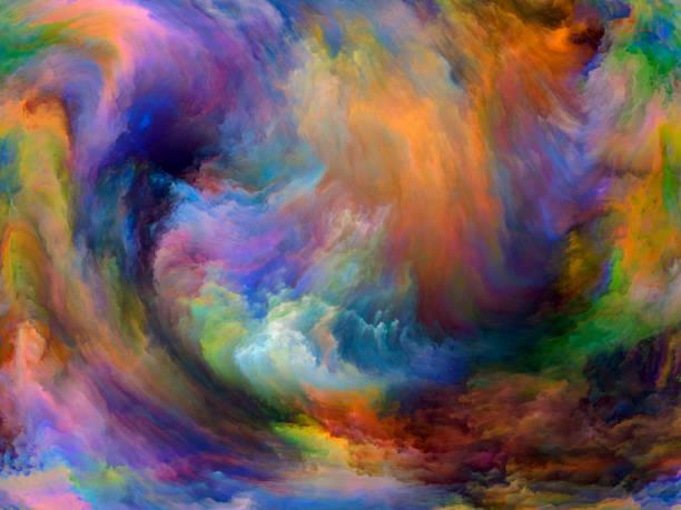 Conceptual Paint vector art illustration