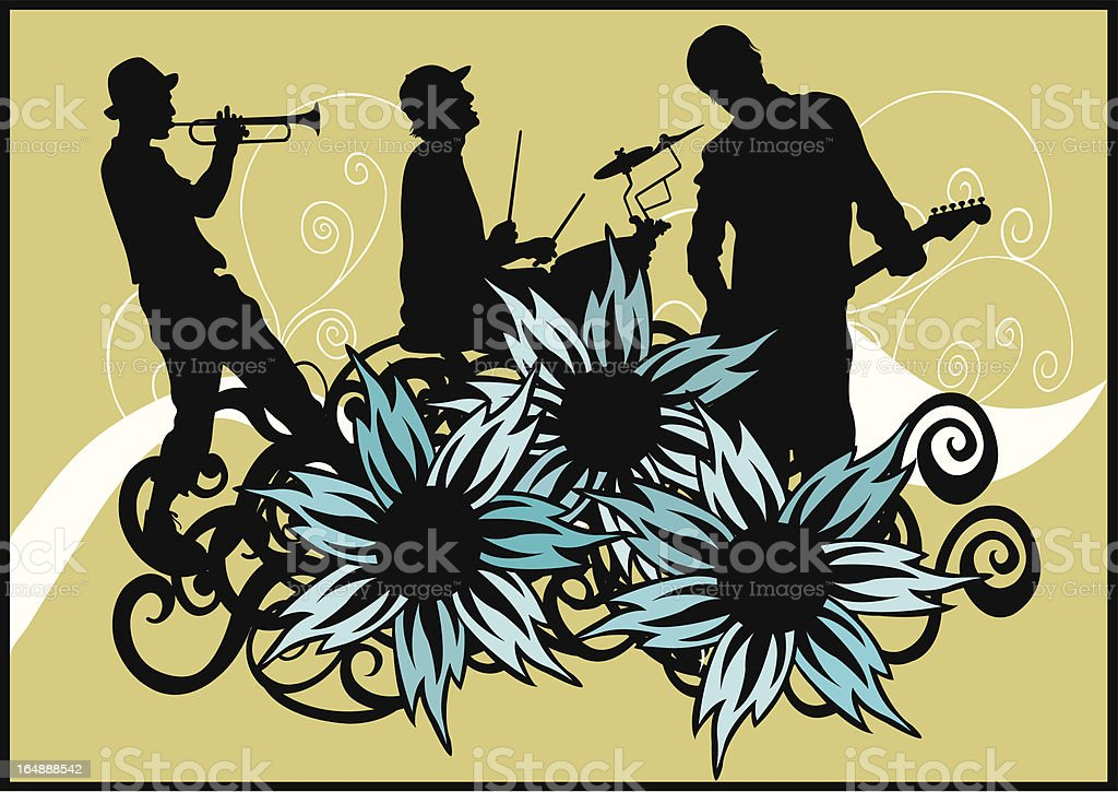Concert royalty-free stock vector art