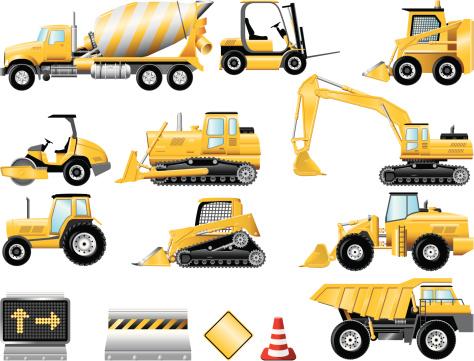 Construction icon set
