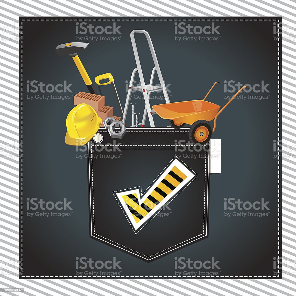 construction royalty-free stock vector art