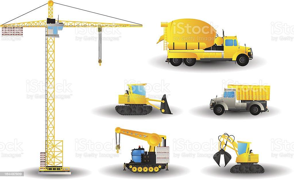 Juego De Construcción De Vehículos - Arte vectorial de stock y más ...