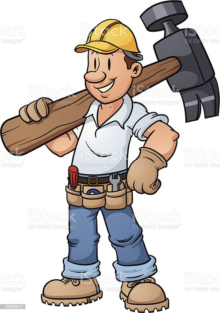 Construction worker royalty-free construction worker stock vector art & more images of adult