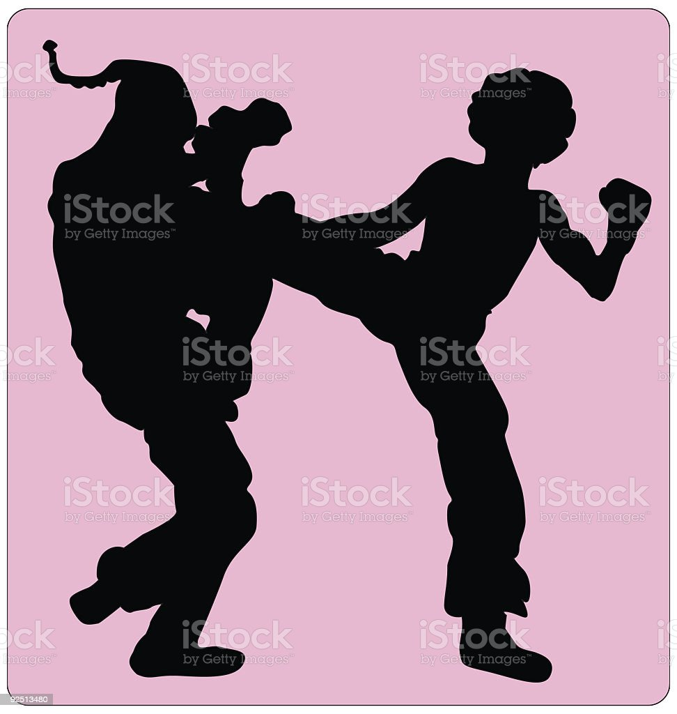 Contact Sport (Vector) royalty-free contact sport stock vector art & more images of afro