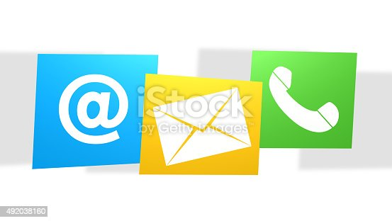 istock Contact Us friendly color 492038160
