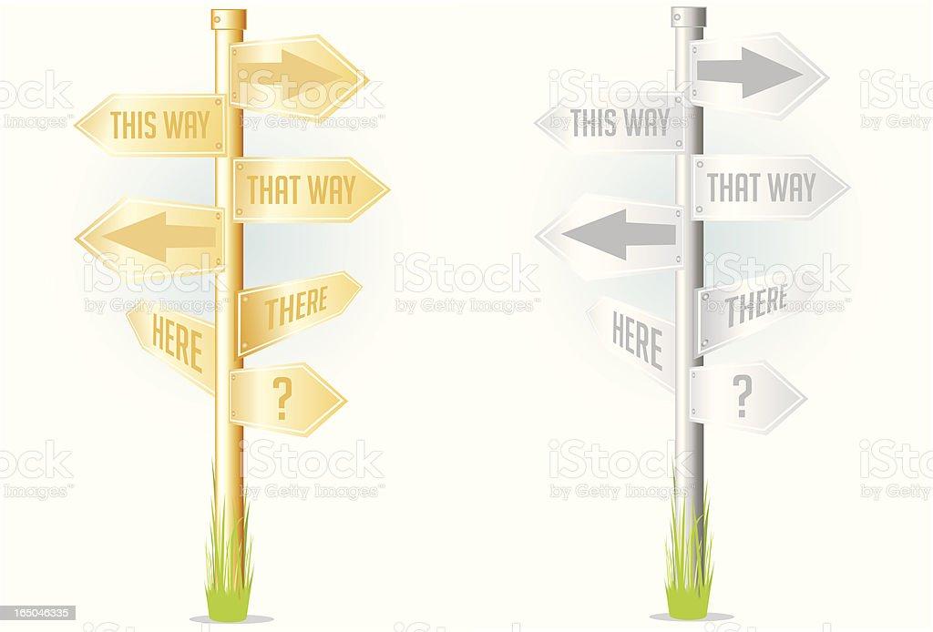 Betrachtung oder Mass Verwirrung! – Vektorgrafik