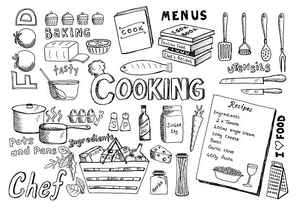 Royalty Free Recipe Clip Art, Vector Images