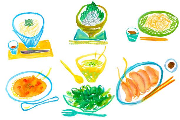 料理教室  - インド料理点のイラスト素材/クリップアート素材/マンガ素材/アイコン素材