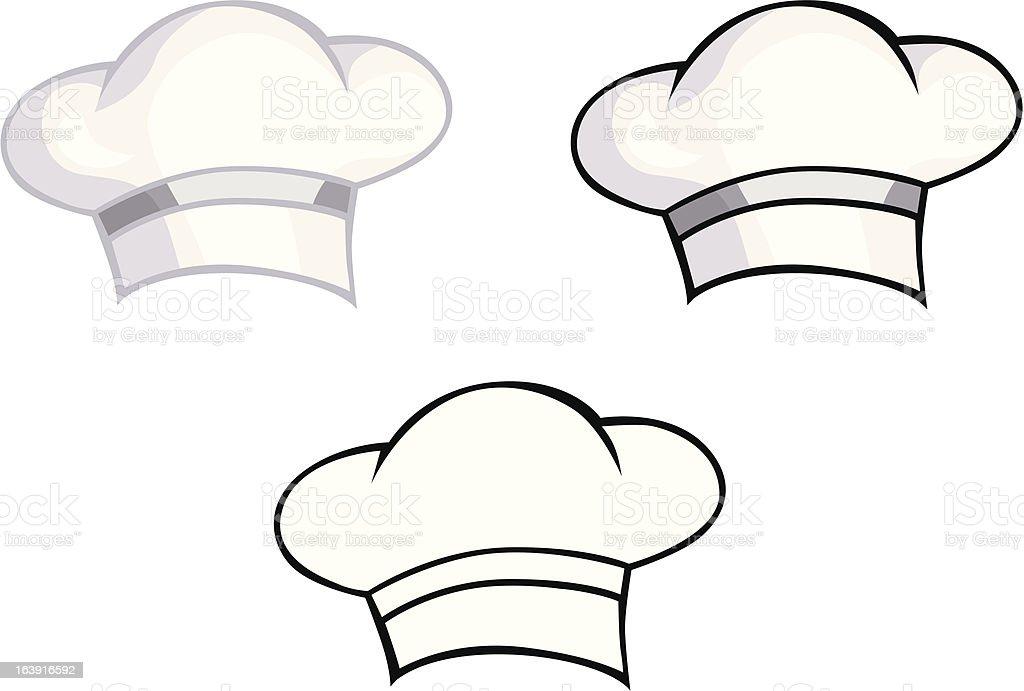 Cooks cap royalty-free stock vector art