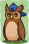 Cool Horned Owl