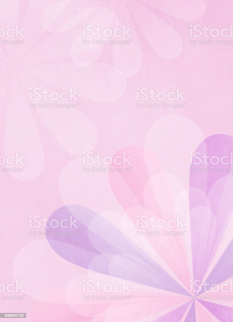 Copy space of flower motif vector art illustration