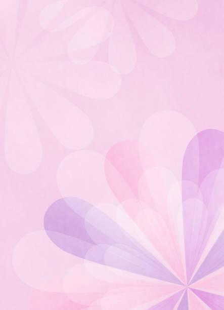 花のモチーフの領域をコピーします。 ベクターアートイラスト
