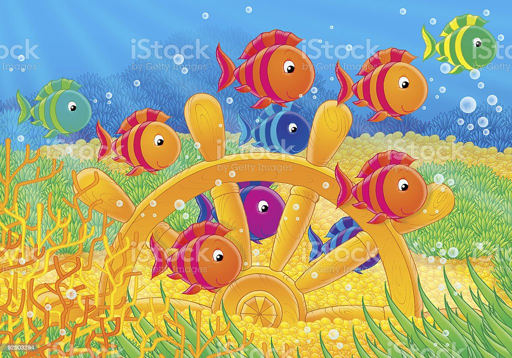 Coral reef 027 royalty-free coral reef 027 stock vector art & more images of animal