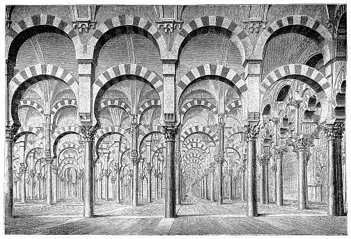 Illustration of a Cordova Mosque