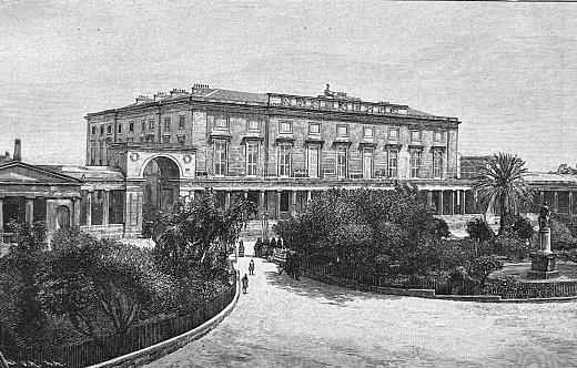 Corfu, Royal Villa