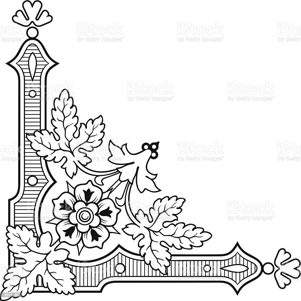 Corner Design royalty-free corner design stock vector art & more images of angle