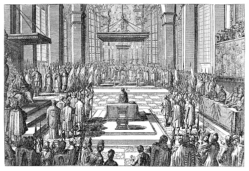 Coronation of Joseph I as King of Hungary at Presburg ,Bratislava