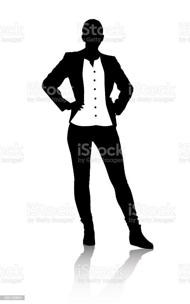 Corporate and casual royalty-free stock vector art