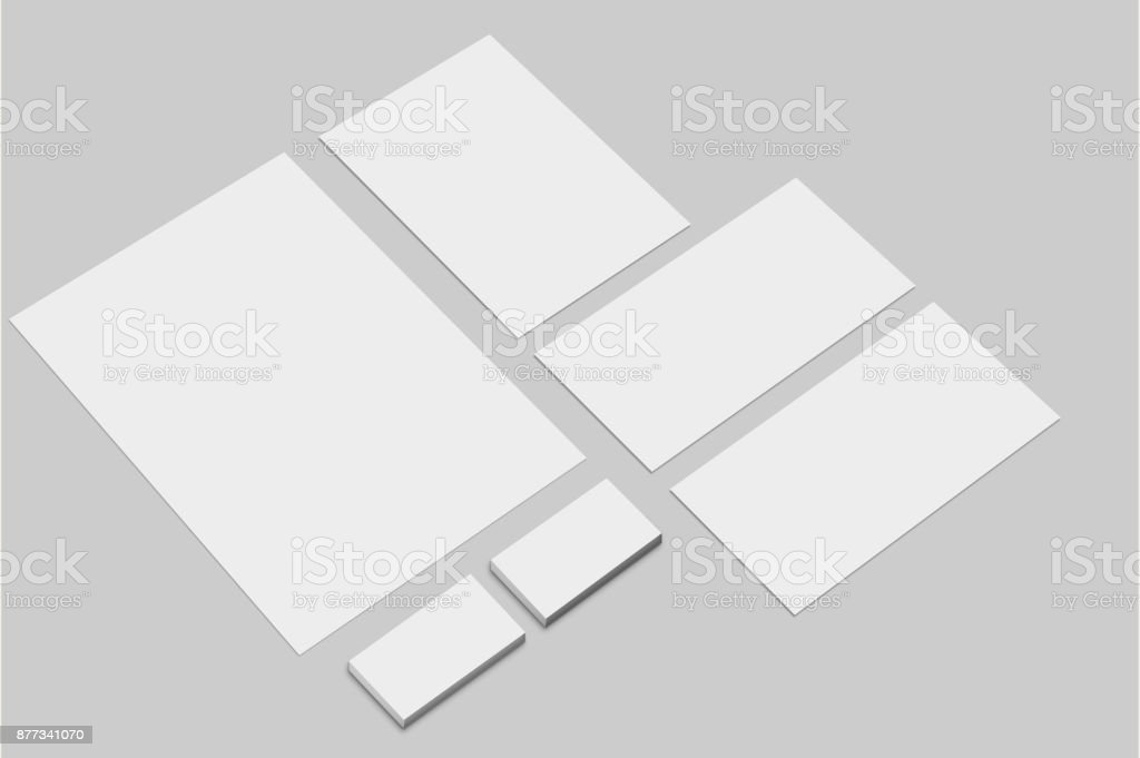 Corporate identity presentation template branding mockup set corporate identity presentation template branding mockup set letterhead envelope and business cards empty friedricerecipe Image collections