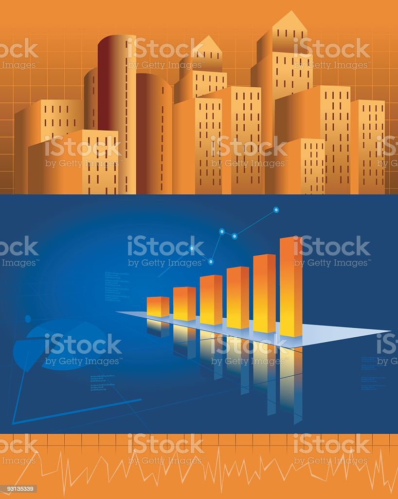 Corporate theme royalty-free stock vector art