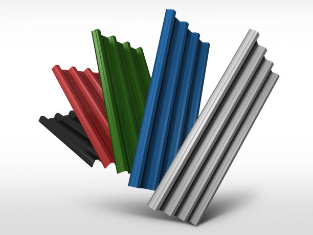 Royalty Free Corrugated Metal Clip Art, Vector Images ...