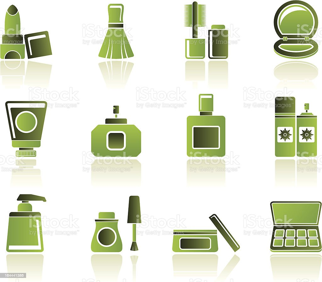 Cosmetic Industry And Beauty Icons Stock Vector Art & More