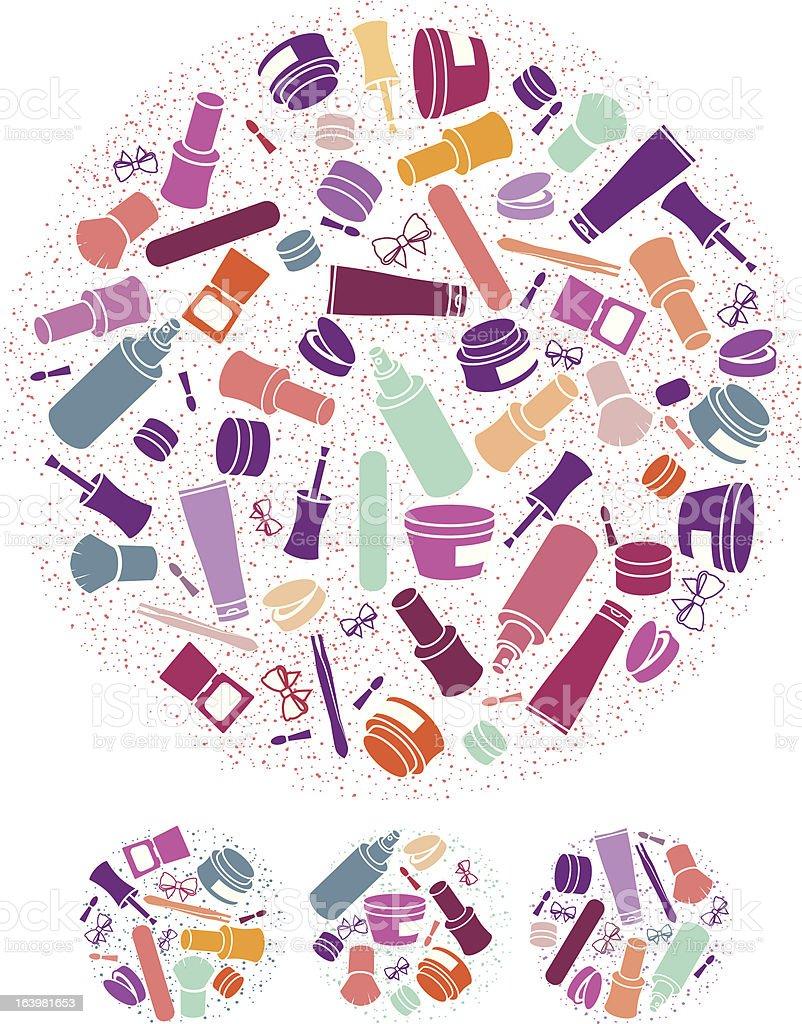 cosmetics icons royalty-free stock vector art