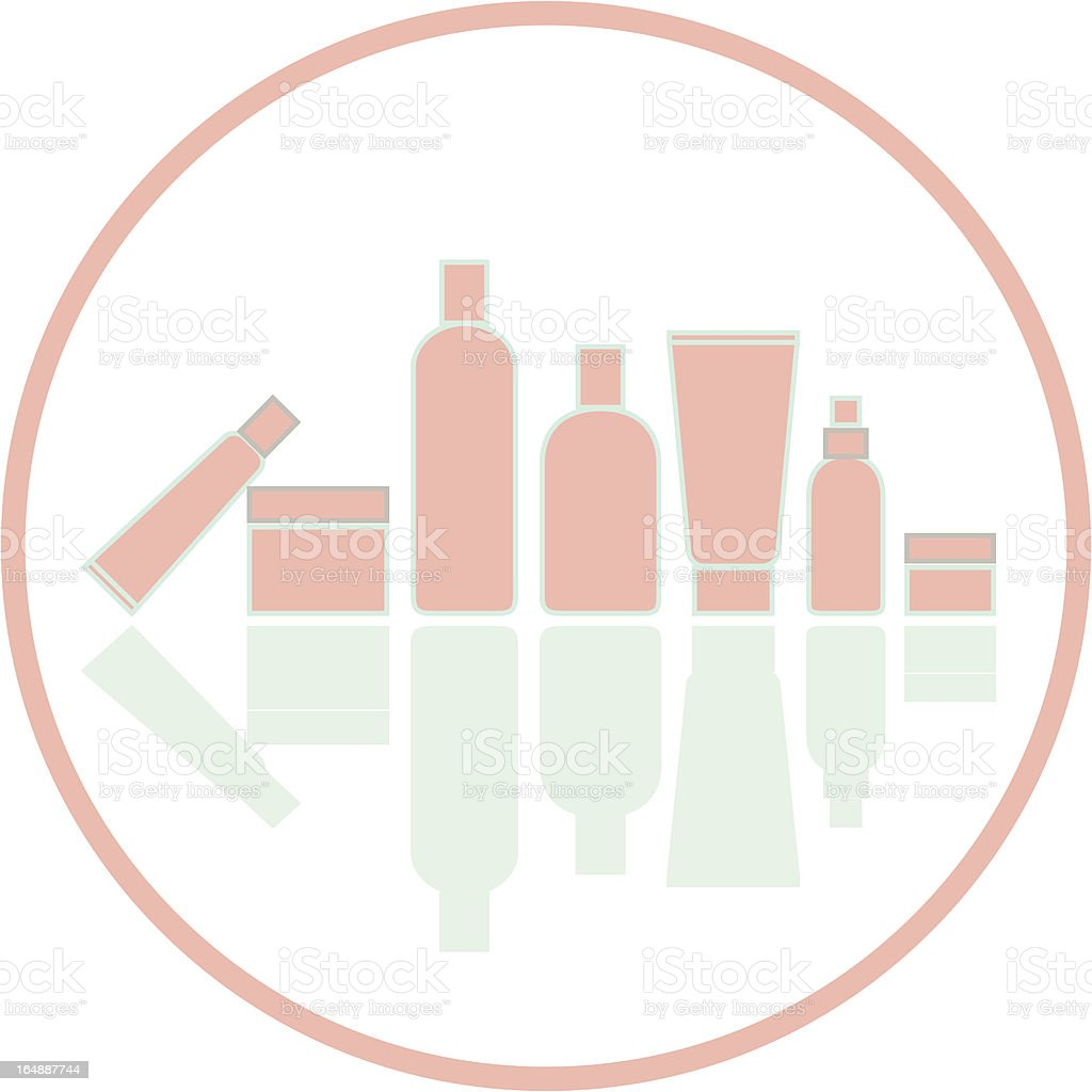 cosmetics silhouette stock vector art amp more images of