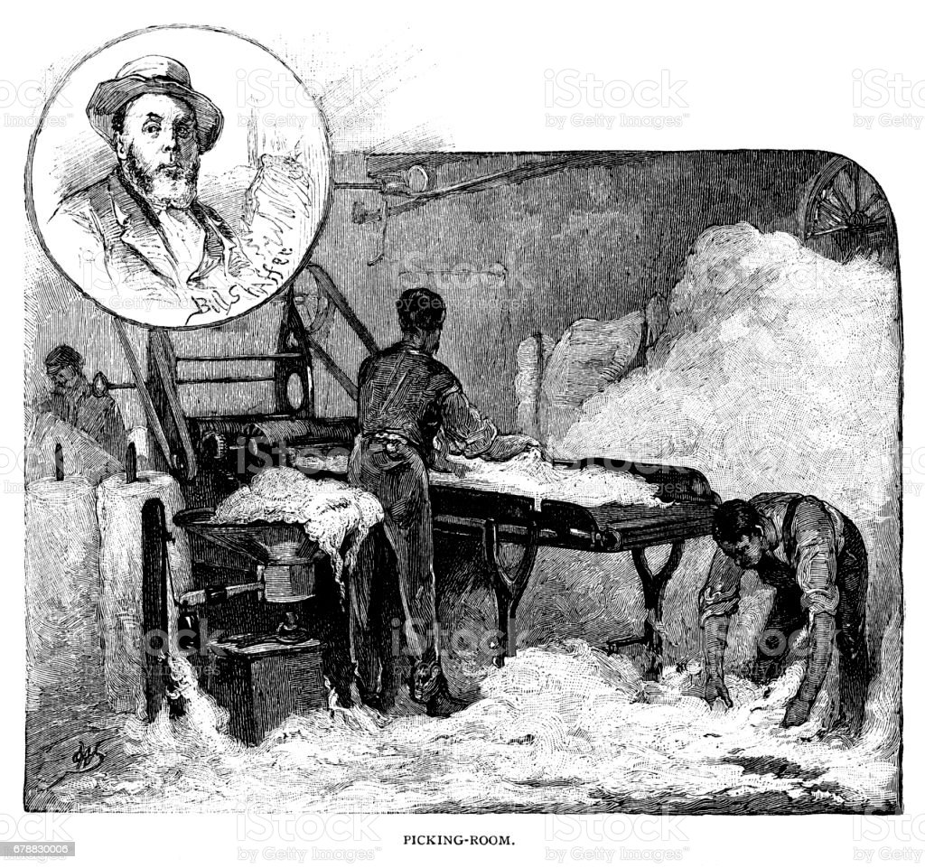 Cotton Picking Room cotton picking room – cliparts vectoriels et plus d'images de adulte libre de droits