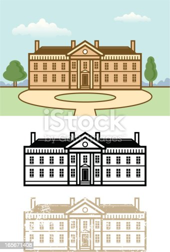 istock Country house 165671408