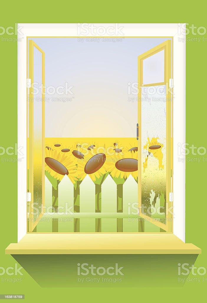 country window 免版稅 country window 向量插圖及更多 common madia 圖片