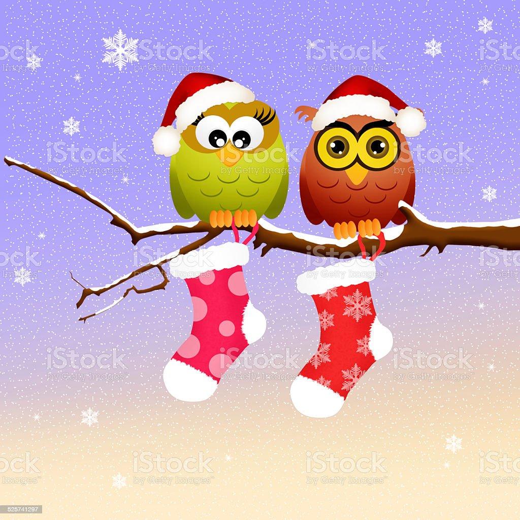 クリスマスの楽しみのカップル のイラスト素材 525741297 | istock