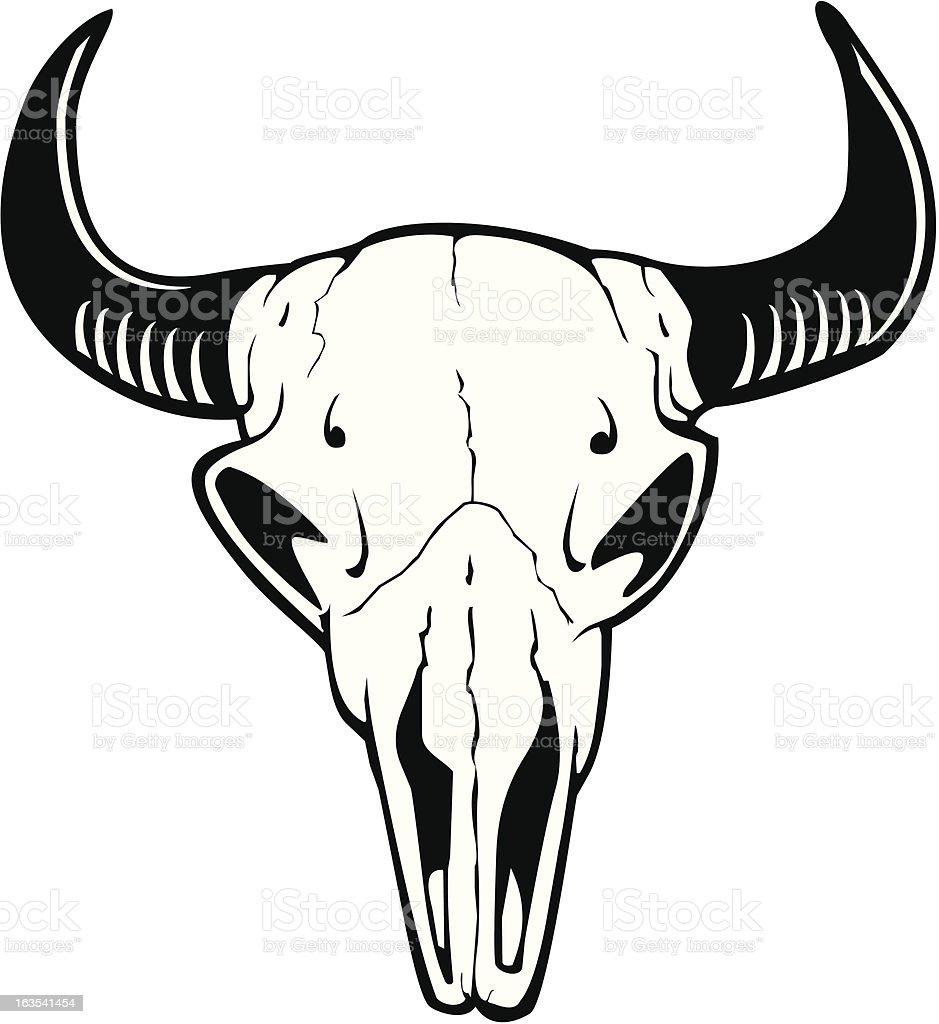 cow skull2 stock vector art 163541454 istock