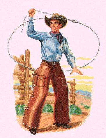 Cowboy and Lasso