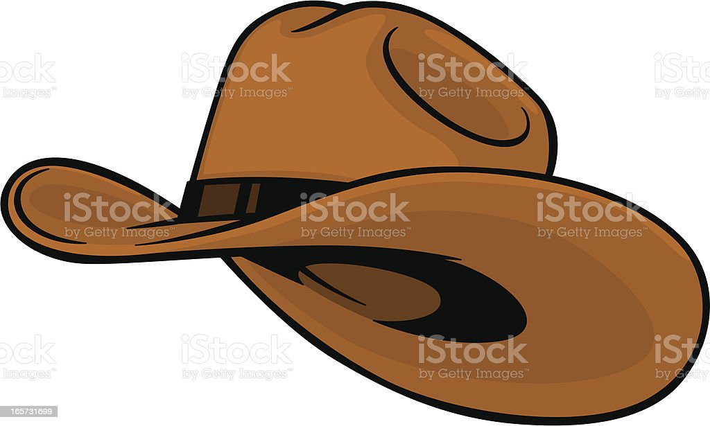 Cowboy Hat Stock Vector Art & More Images of Cartoon