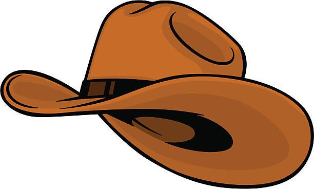 cowboy hat vector art illustration