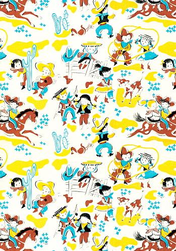 Cowboy pattern