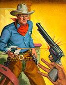 istock Cowboy Quick Draw 152406635