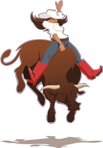 Riding Bull Illustrations, Royalty-Free Vector Graphics ...