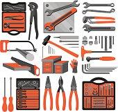 Craft icons – Hand tools (Set 3)