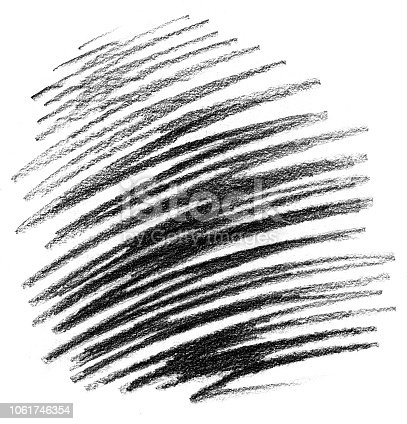 Raster illustration of a Crayon Pencil Drawing Scribble Texture