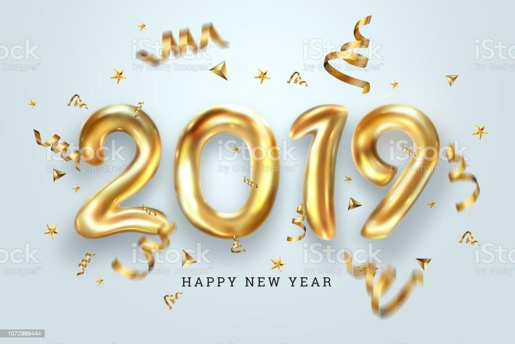 Happy New Year Balloons 88