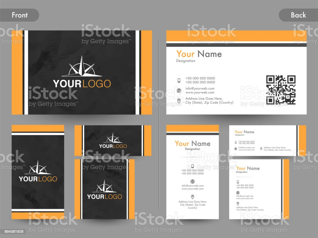 Creative business card visiting card or name card design with front creative business card visiting card or name card design with front and back page view reheart Gallery