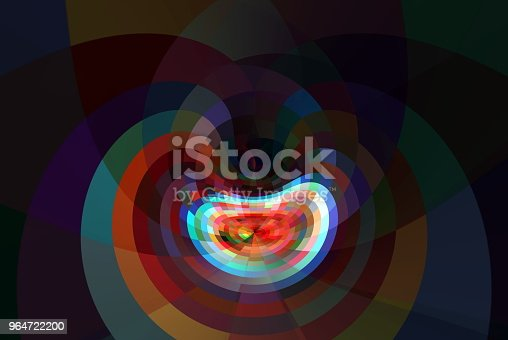 Creative Digital Art Background Stock Vector Art & More Images of Abstract 964722200