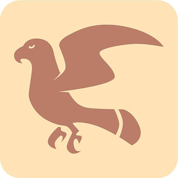 Eagle icono de Creative - ilustración de arte vectorial