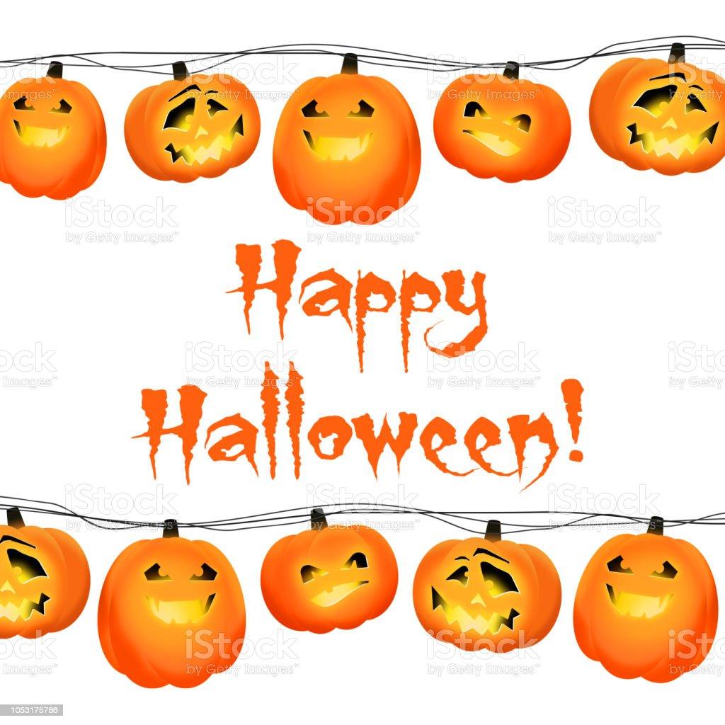 Ilustración De Diseño Creativo De Halloween Para La Tarjeta