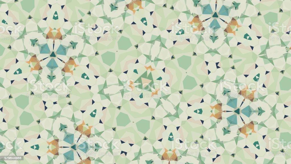 Creative Nature Inspired Mandalas vector art illustration