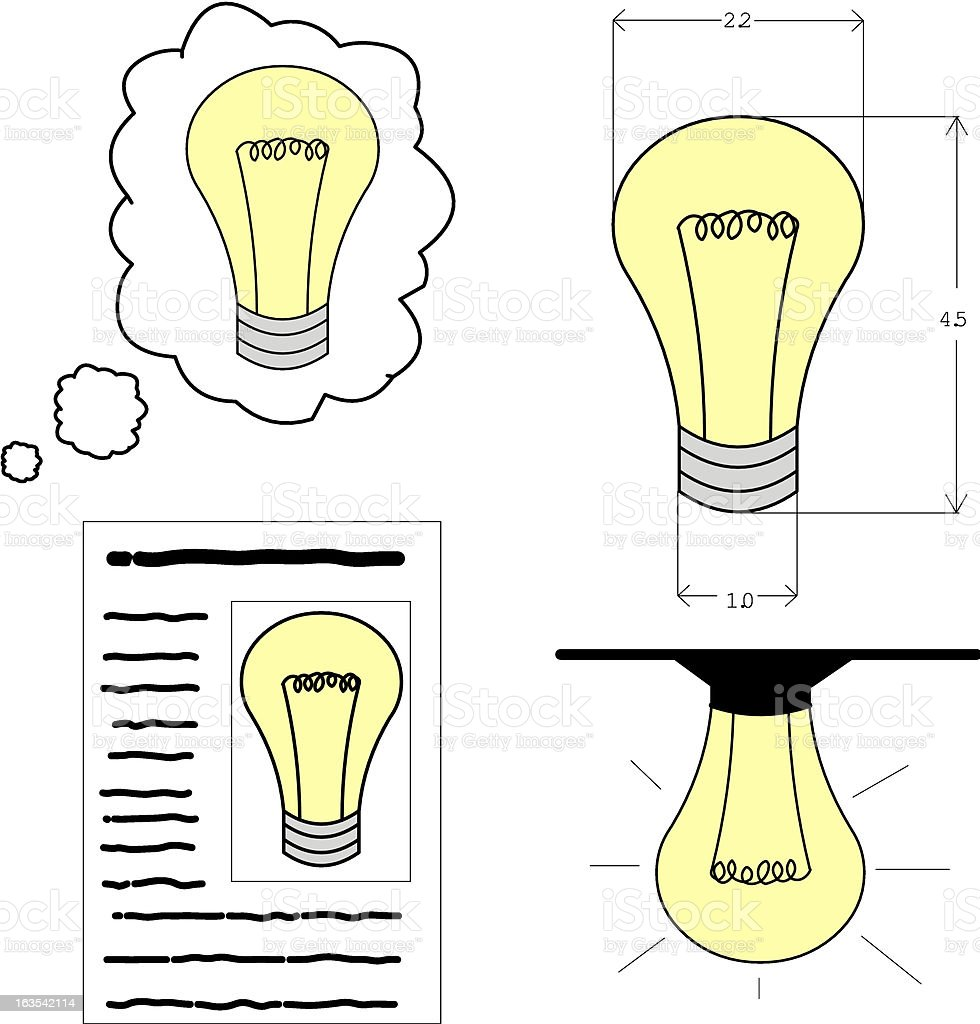 creative process royalty-free stock vector art