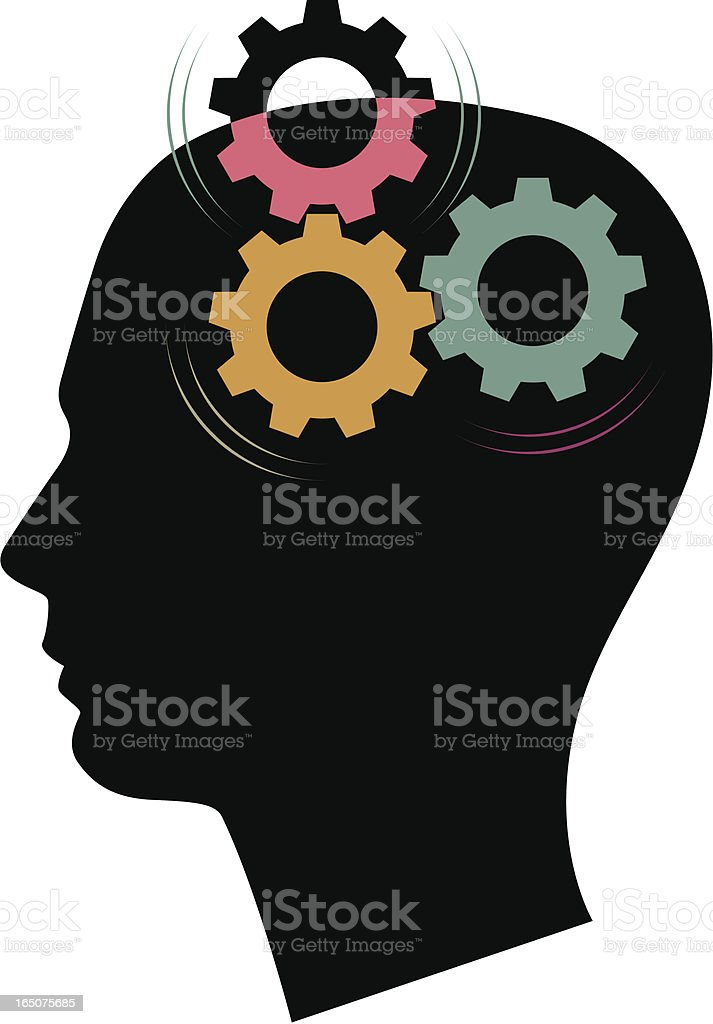 Creative thought royalty-free stock vector art