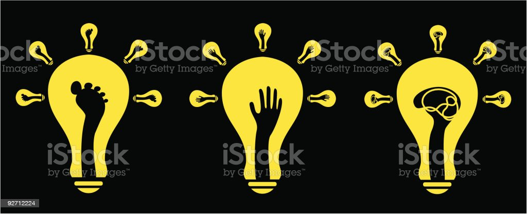 creativity (vector) royalty-free stock vector art