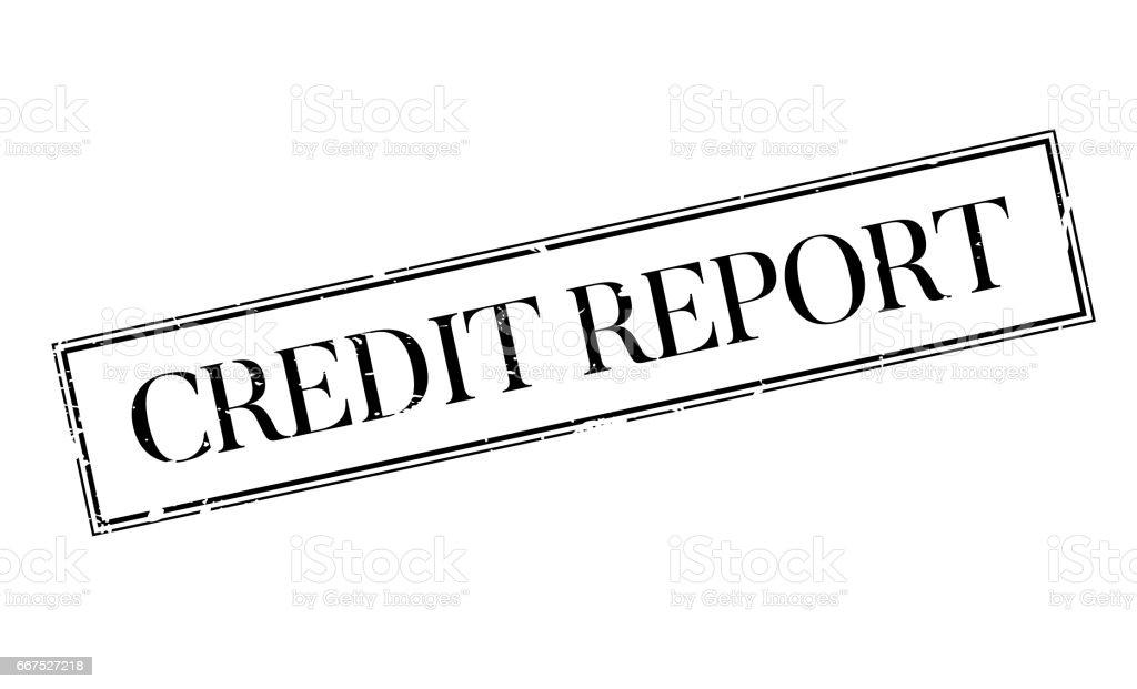 Credit Report rubber stamp credit report rubber stamp - immagini vettoriali stock e altre immagini di composizione orizzontale royalty-free